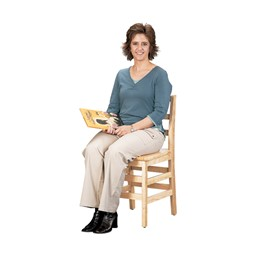 """Ladder Back Chair - Set of Two (18"""" Seat Height)"""