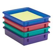 Plastic Cubby Storage Bins & Storage Trays