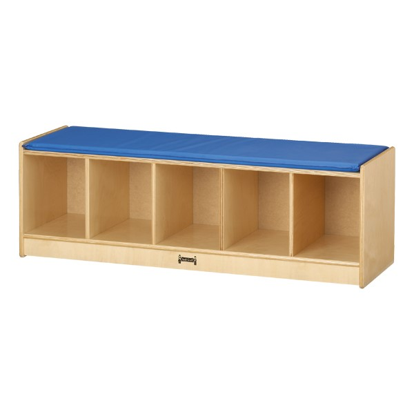 Five-Section Bench Lockers