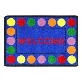 "Lots of Dots Rug - Rectangle (2\' 8"" W x 3\' 10\"" L)"