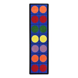 """Lots of Dots Rug - Runner (2\' 1\"""" W x 7\' 8\"""" L)"""