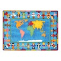 Hands Around the World Rug