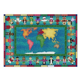 Let the Children Come Rug - Rectangle