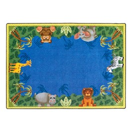 Jungle Friends Rug - Rectangle