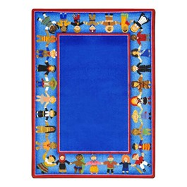 Children of Many Cultures Rug - Rectangle