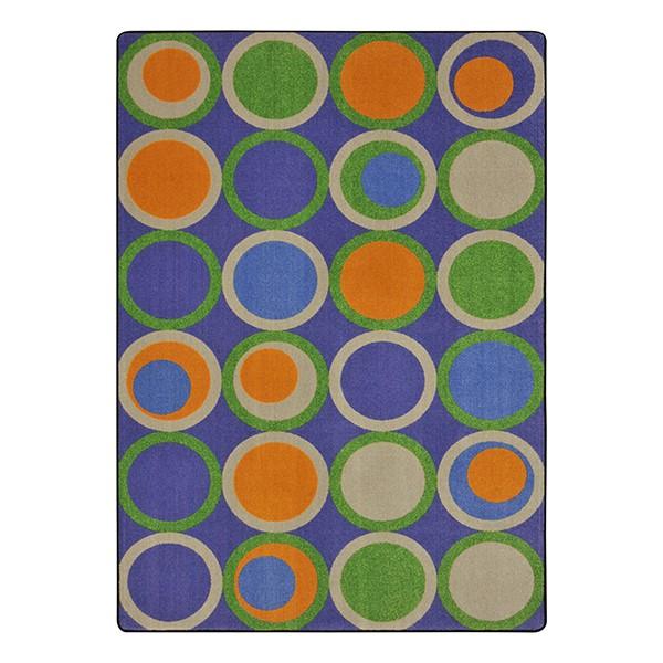 Circle Back Rug - Violet