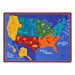 States of the Nation Rug