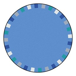 On the Border Rug - Round - Soft