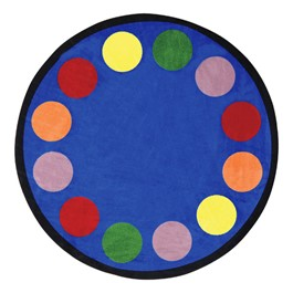 Lots of Dots Rug - Round