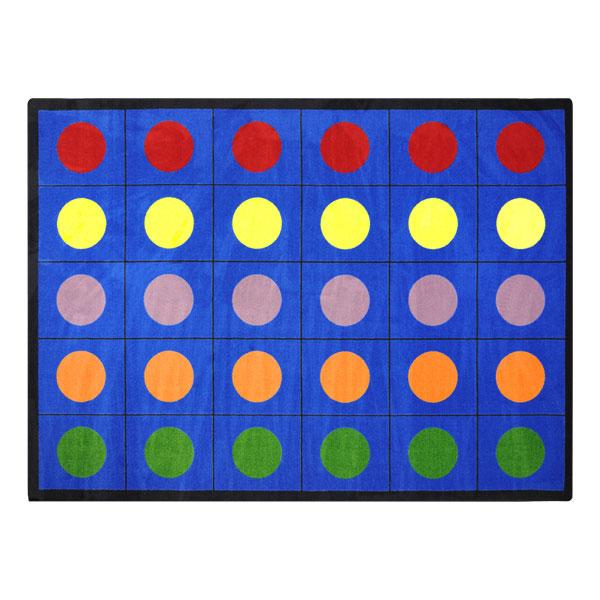 Joy Carpets Co Lots Of Dots Rug At