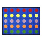 Lots of Dots Rug - Rectangle