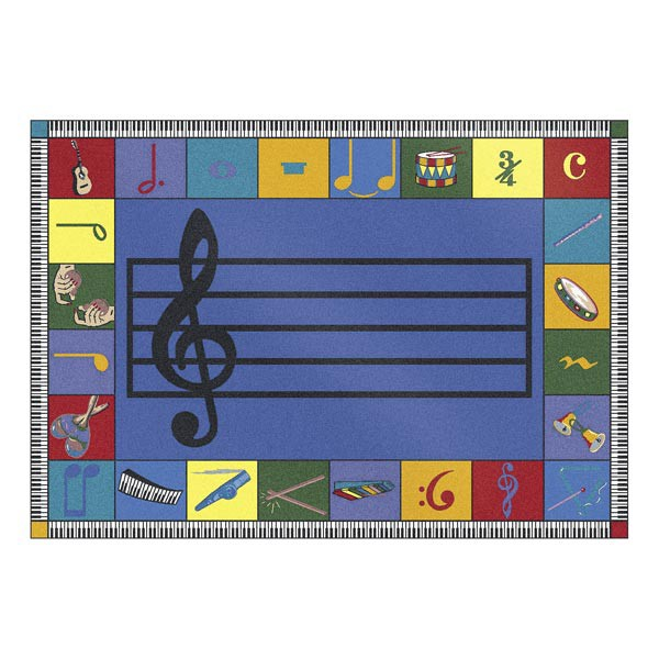 Note Worthy Rug - Preschool Version