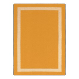 Portrait Rug - Rectangle - Goldenrod