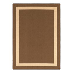 Portrait Rug - Rectangle - Mocha