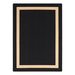 Portrait Rug - Rectangle - Onyx