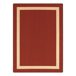 Portrait Rug - Rectangle - Maroon