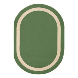 Portrait Rug - Oval - Greenfield