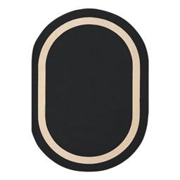 Portrait Rug - Oval - Onyx