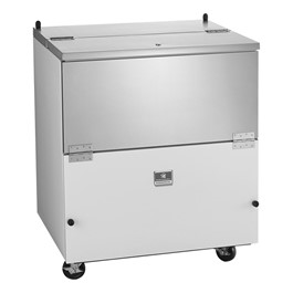 """34\"""" School Milk Cooler - 8 Crate Capacity"""