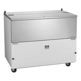 """49\"""" School Milk Cooler - 12 Crate Capacity"""
