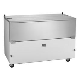 """58\"""" School Milk Cooler - 16 Crate Capacity"""