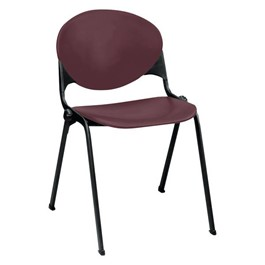 2000 Series Stack Chair - Burgundy