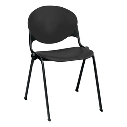 2000 Series Stack Chair - Charcoal