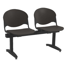 2000 Series Beam Seating – Two Seats – Charcoal