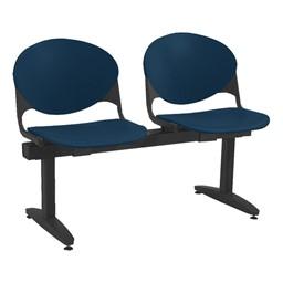 2000 Series Beam Seating – Two Seats – Navy