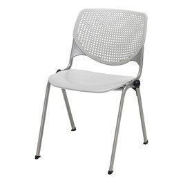 2300 Series Plastic Stack Chair - Light gray