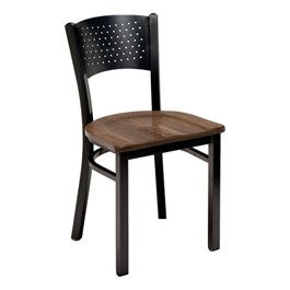3306 Series Café Chair - Wood Seat