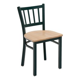 3309 Series Café Chair - Wood Seat
