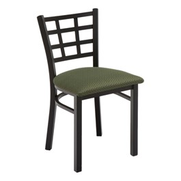 3312 Series Café Chair - Fabric Upholstered Seat
