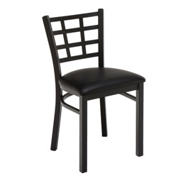 3312 Series Café Chair - Vinyl Upholstered Seat