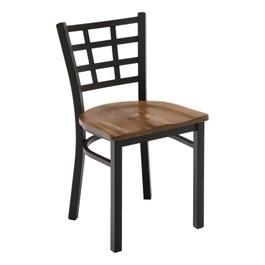 3312 Series Café Chair - Wood Seat