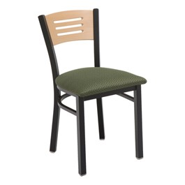 3315B Series Café Chair - Fabric Upholstered Seat