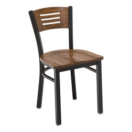 3315B Series Café Chair - Wood Seat