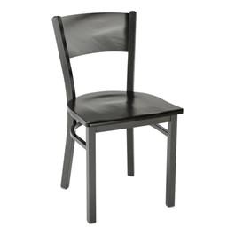 3315C Series Café Chair - Wood Seat