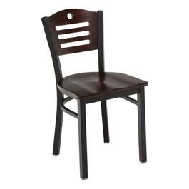 3315D Series Café Chair - Wood Seat