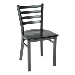 3316 Series Café Chair - Wood Seat