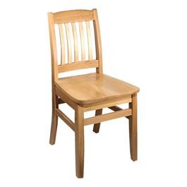 4400 Series Wood Chair - Natural