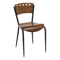 3818A Series Café Chair - Wood Seat
