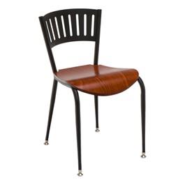 3818LA Series Café Chair - Wood Seat