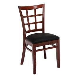 4300 Series Café Chair - Vinyl Upholstered Seat