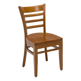 4500 Series Café Chair - Wood Seat