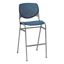 2300 Series Plastic Stool - Navy