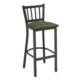 3309 Series Café Stool - Fabric Upholstered Seat