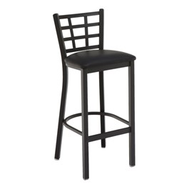3312 Series Café Stool - Vinyl Upholstered Seat