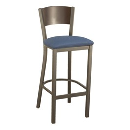 3315C Series Cafe Stool - Fabric Upholstered Seat
