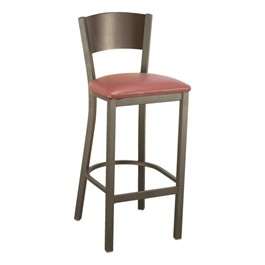 3315C Series Café Stool - Vinyl Upholstered Seat